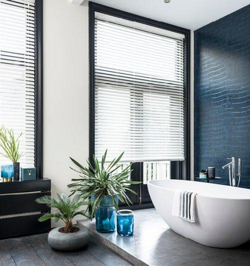 Elegante banen in de badkamer