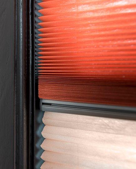 bece® dupligordijn kleurnr. 50097 & 50096 detail