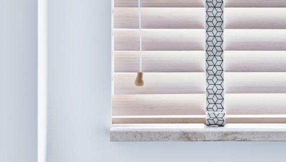 bece® horizontale jaloezie hout 15761 detail