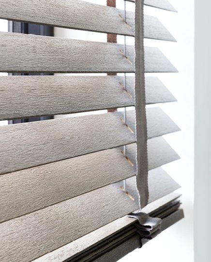 bece® horizontale jaloezie hout kleurnr. 16296 detail