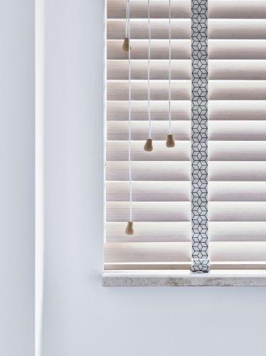 bece® horizontale jaloezie hout kleurnr. 15761 detail